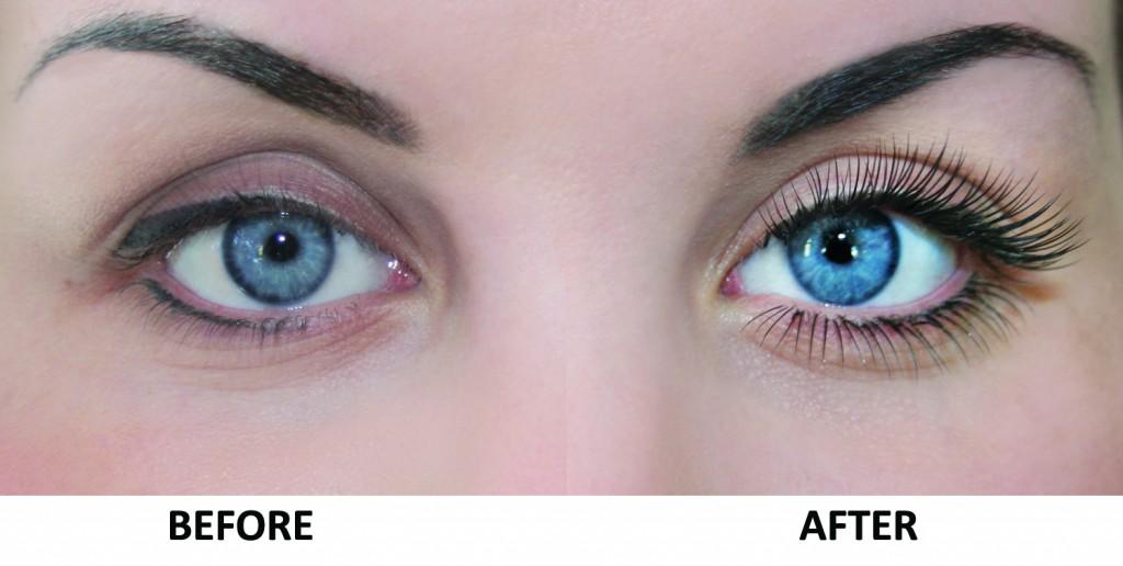 Nouveau Lash Extensios Before & After PHOTO