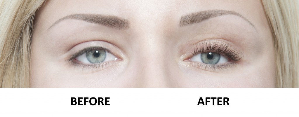 LVL eyelash perm befor & after - PHOTO