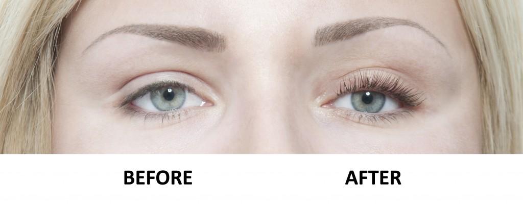 LVL eyelash perm befor & after - PHOTO