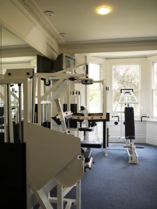 River Club ground floor gym - PHOTO